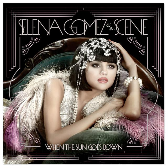 "Selena Gomez """"When The Sun Goes Down"""" CD"