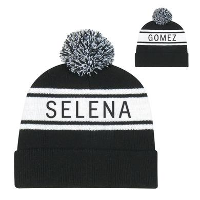 Selena Gomez Selena Pom Pom Beanie
