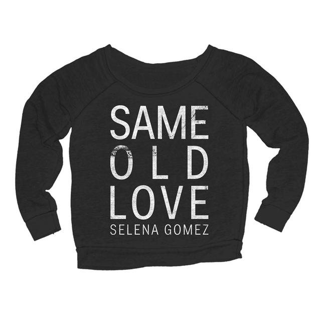 Selena Gomez Same Old Love Girl's Crewneck Fleece