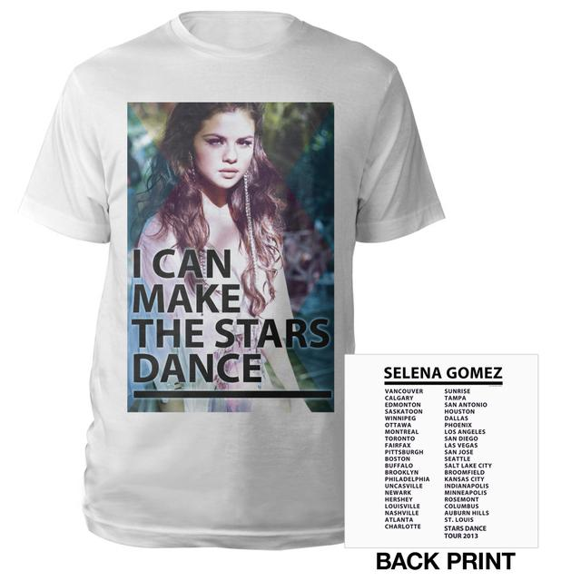 Selena Gomez I Can Make The Stars Dance Tour Tee