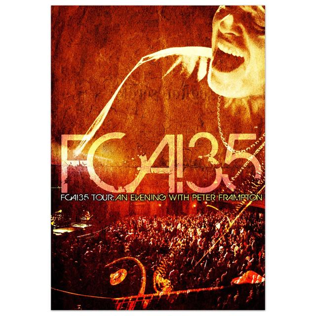 Peter Frampton FCA! 35 DVD