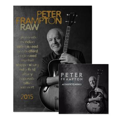 Peter Frampton Autographed Poster and Acoustic CD