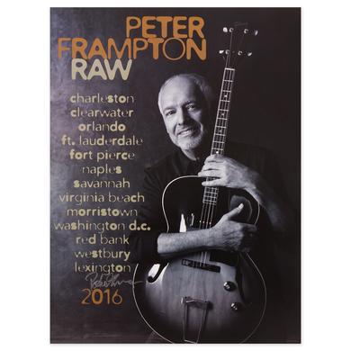Peter Frampton Signed Poster