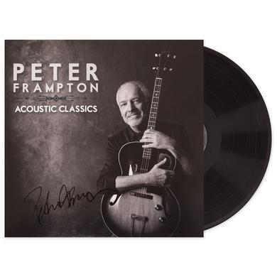 Peter Frampton Acoustic Classics Vinyl Autographed