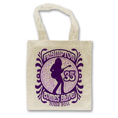 Peter Frampton Frampton Comes Alive 35 Tour Tote Bag