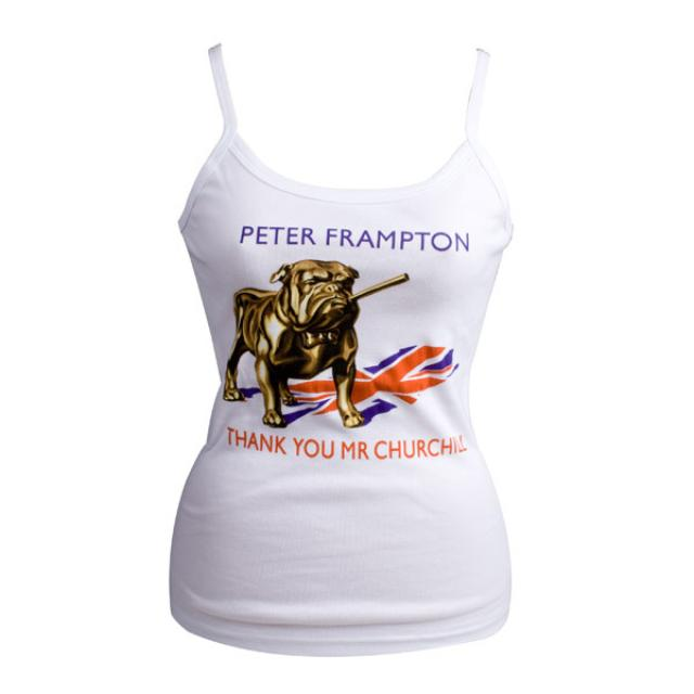 Peter Frampton Bulldog Women's Tank Top