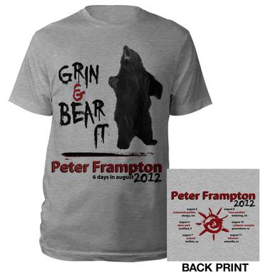 Peter Frampton Grin & Bear It Tour Tee
