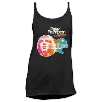 Peter Frampton Ladies Frampton Comes Alive 40th Tank Top