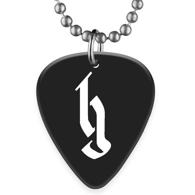 Brantley Gilbert BG Logo Guitar Pick Necklace