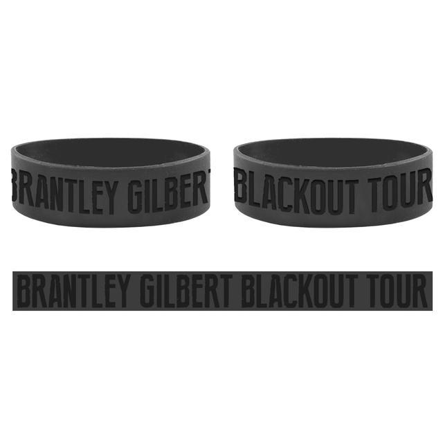 Brantley Gilbert Blackout Tour Wristband