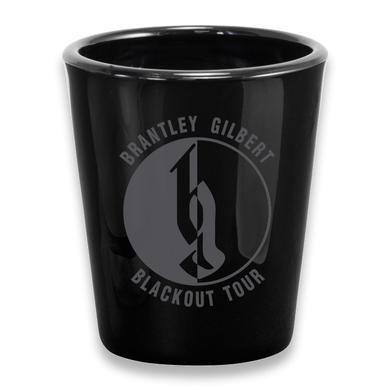 Brantley Gilbert BG Blackout Tour Shot Glass