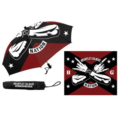 Brantley Gilbert BG Nation Umbrella