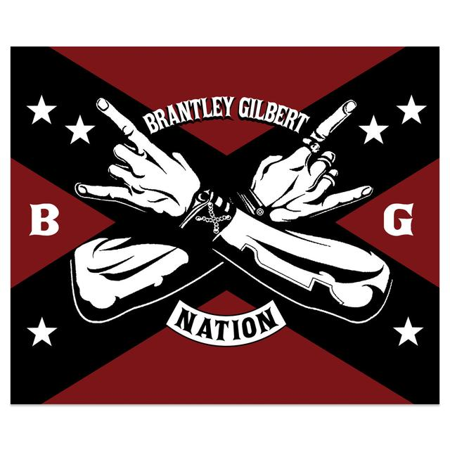 Brantley Gilbert Crossed Arms Blanket