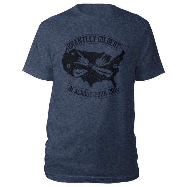 Brantley Gilbert Black Out Tour Shirt