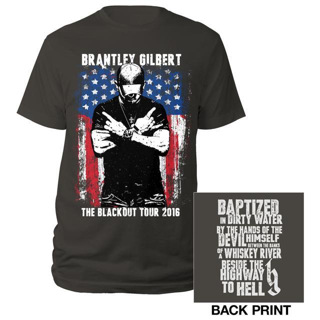 Brantley Gilbert Crossed Arms Tour 2016 Tee
