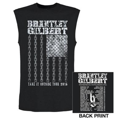 Brantley Gilbert Chains Tank Top