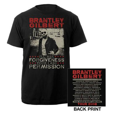 Brantley Gilbert Forgiveness & Permission photo Tee