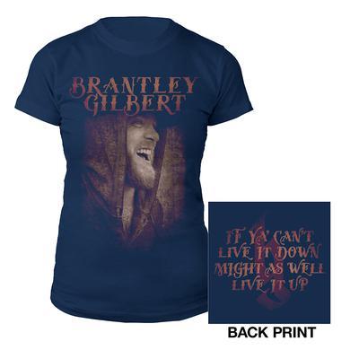 Brantley Gilbert Photo Ladies Tee