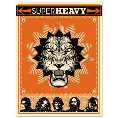 SuperHeavy Signed Screen Print