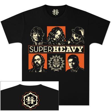 SuperHeavy Band Grid T-Shirt