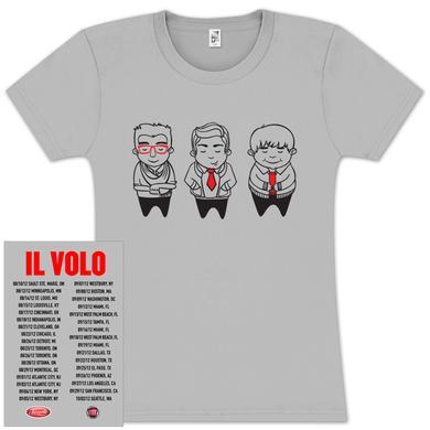 Il Volo Sketch Tour Babydoll T-Shirt