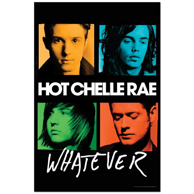 Hot Chelle Rae Album Cover Poster