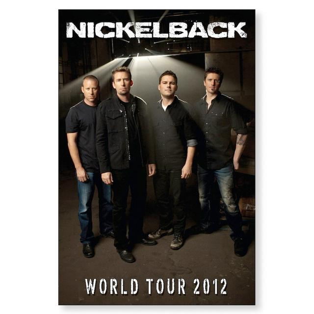Nickelback Band Photo Tour Poster