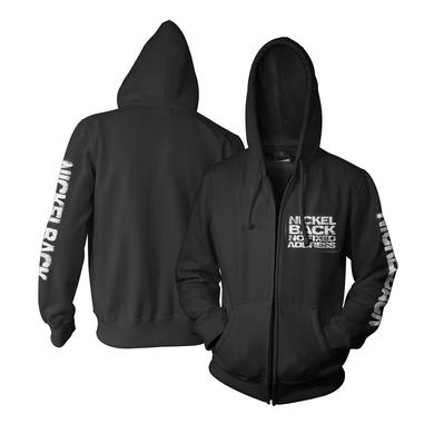 Nickelback No Fixed Address Zip-Up Hooded Sweatshirt