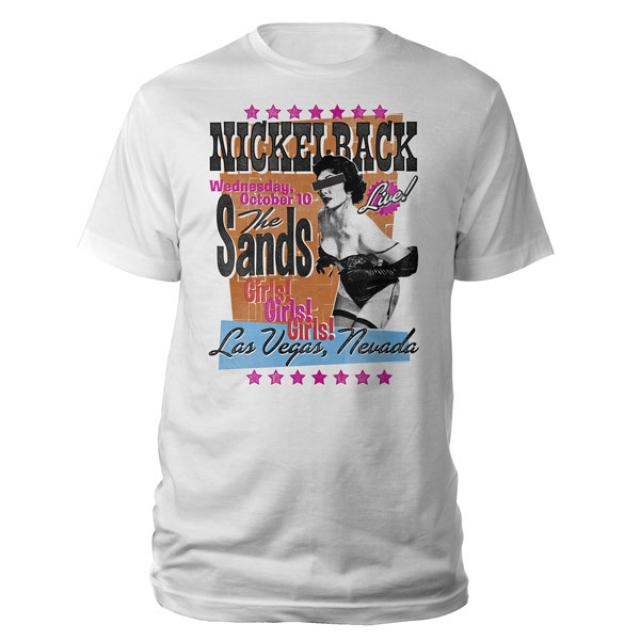 Nickelback The Sands Tee