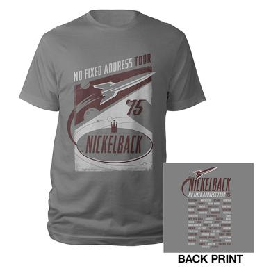 2015 Nickelback Rocket Tour Tee