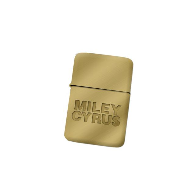 Miley Cyrus Gold Lighter