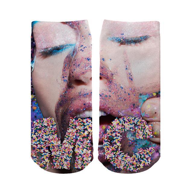 Miley Cyrus Sprinkle Socks