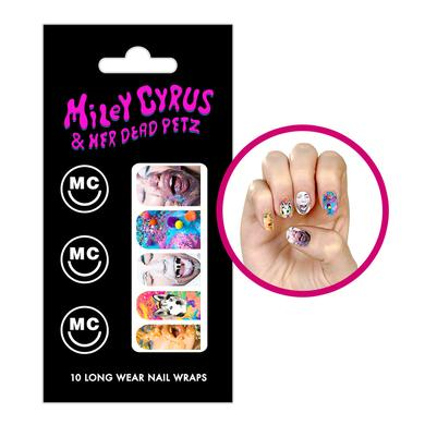 Miley Cyrus MC Nail Wraps