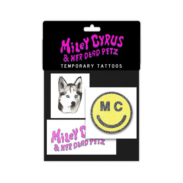 Miley Cyrus Temporary Tattoos
