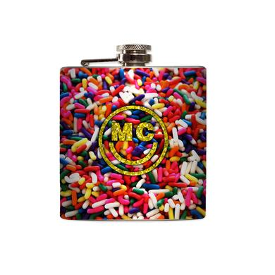 Miley Cyrus Sprinkles Flask