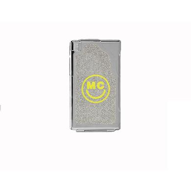 "Miley Cyrus MC Glitter ""J"" Case And Lighter"