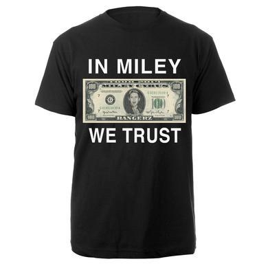 Miley Cyrus In Miley We Trust Tee