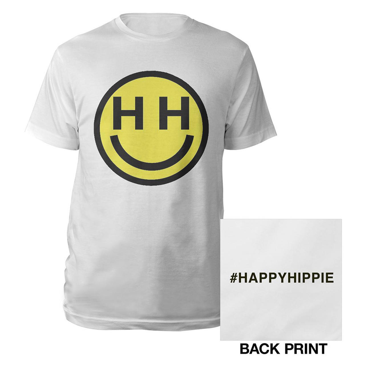 miley cyrus happy hippie foundation t shirt. Black Bedroom Furniture Sets. Home Design Ideas