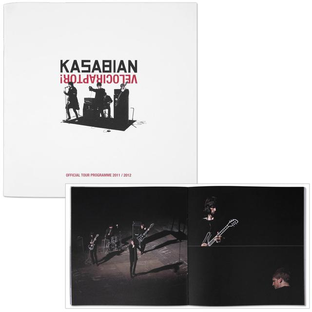 Kasabian Velociraptor UK Tour Programme