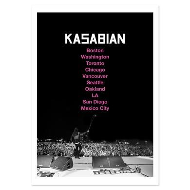 Kasabian US Tour 2014 Print Litho