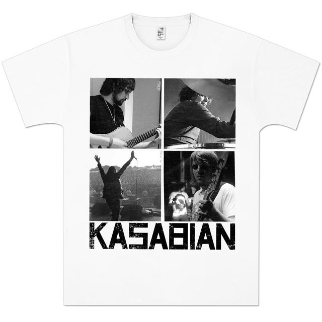 Kasabian Photo Squares T-Shirt