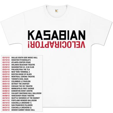Kasabian Logo Raptor Tour T-Shirt