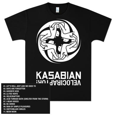Kasabian Art & Tracks T-Shirt