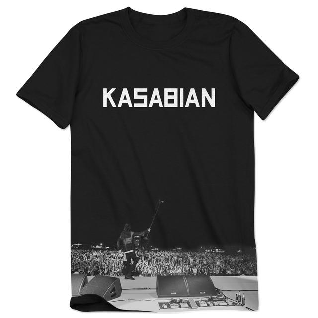Kasabian Live Shot Logo T-Shirt