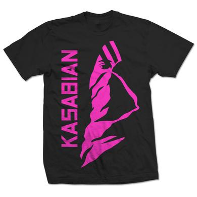 Kasabian Ultraface Pink T-Shirt