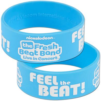 Fresh Beat Band Blue Rubber Braclet