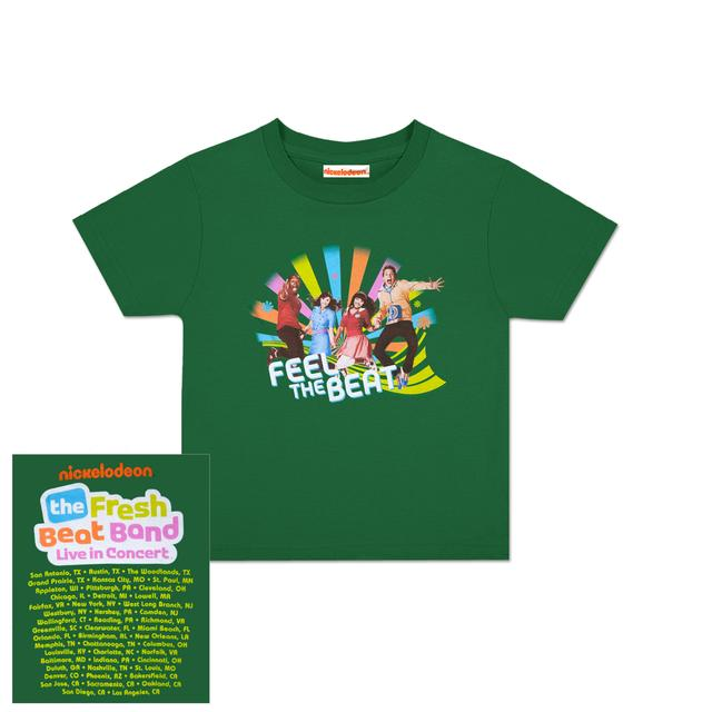 Fresh Beat Band Feel The Beat Toddler T-Shirt