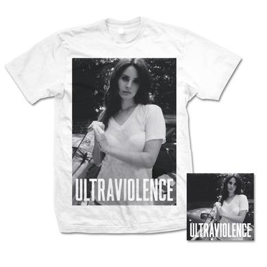 Lana Del Rey Ultraviolence T-Shirt & Deluxe CD