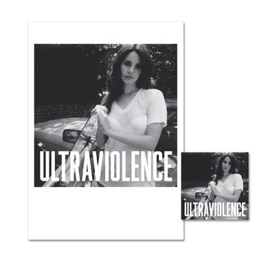 Lana Del Rey Ultraviolence Limited Edition Lithograph & Deluxe CD