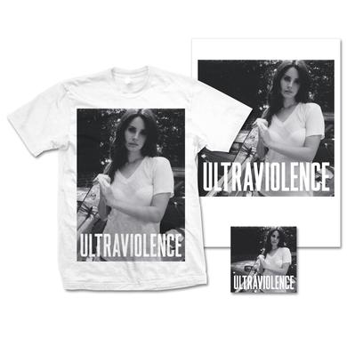 Lana Del Rey Ultraviolence Limited Edition Lithograph, T-Shirt & Deluxe CD